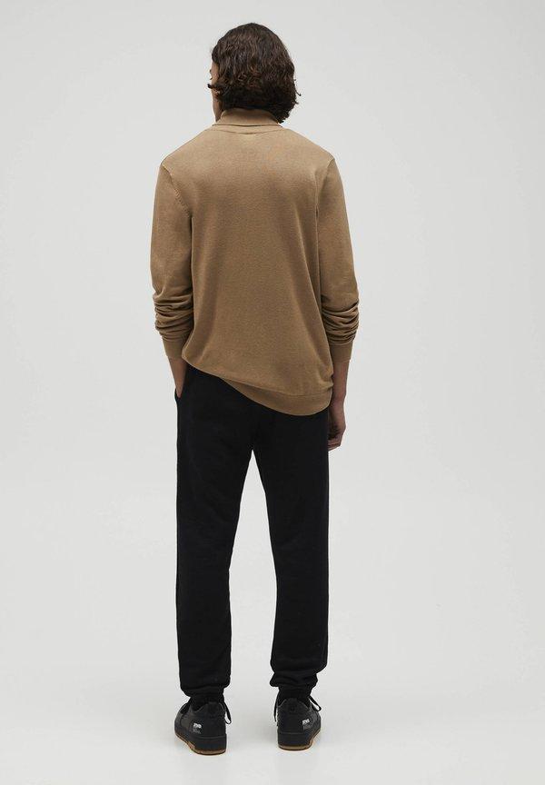 PULL&BEAR Sweter - camel/wielbłądzi Odzież Męska YEOB