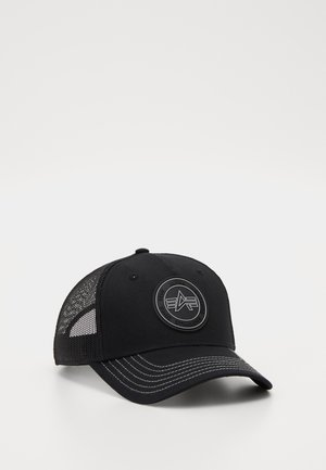 TRUCKER PATCH - Cap - black