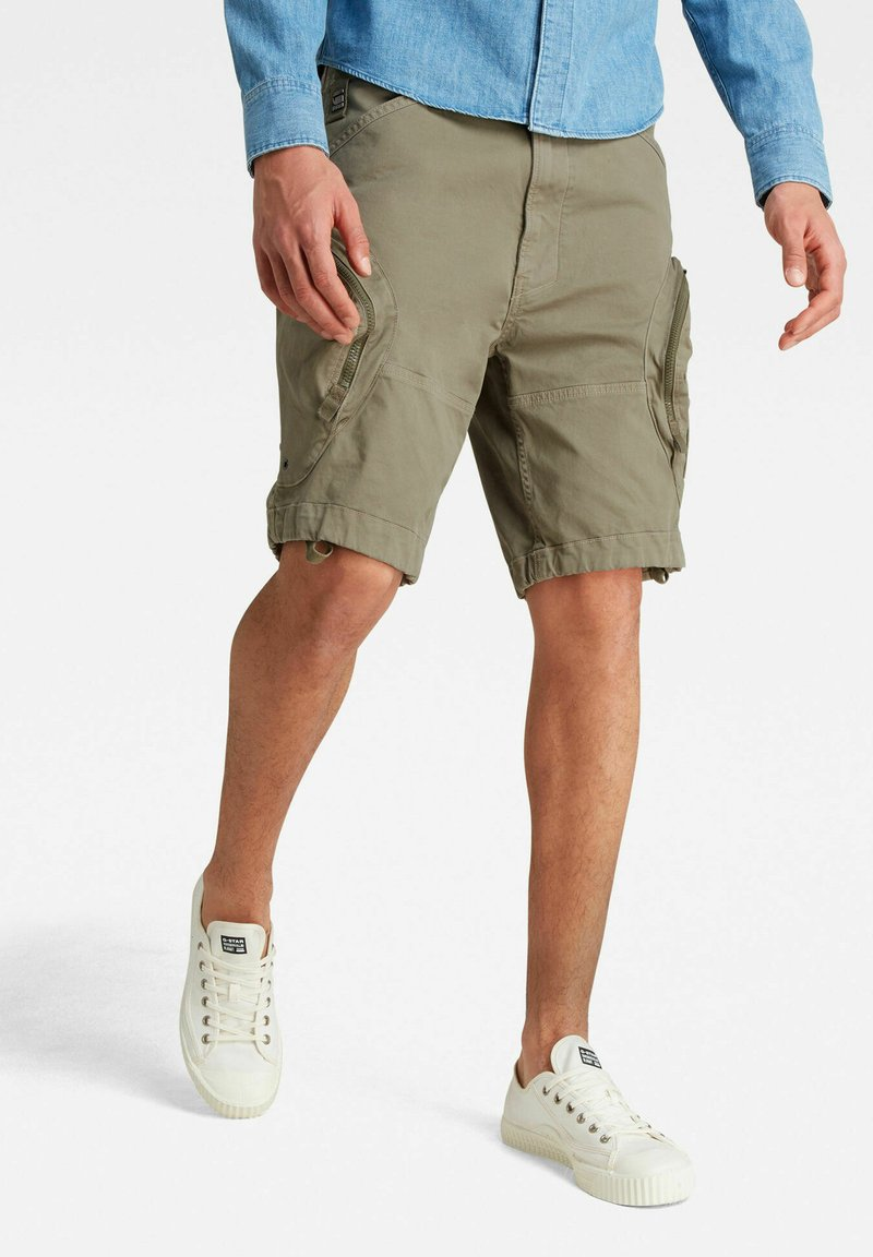 G-Star - ROVIC AIRFORCE RELAXED - Shorts - shamrock gd