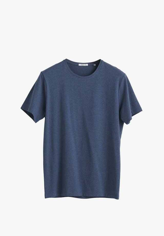 T-shirt basic - blue melange