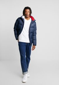 Tommy Jeans - ESSENTIAL JACKET - Down jacket - black iris - 1