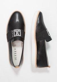JETTE - Slip-ons - black - 3