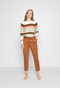 s.Oliver - Kalhoty - brown - 1