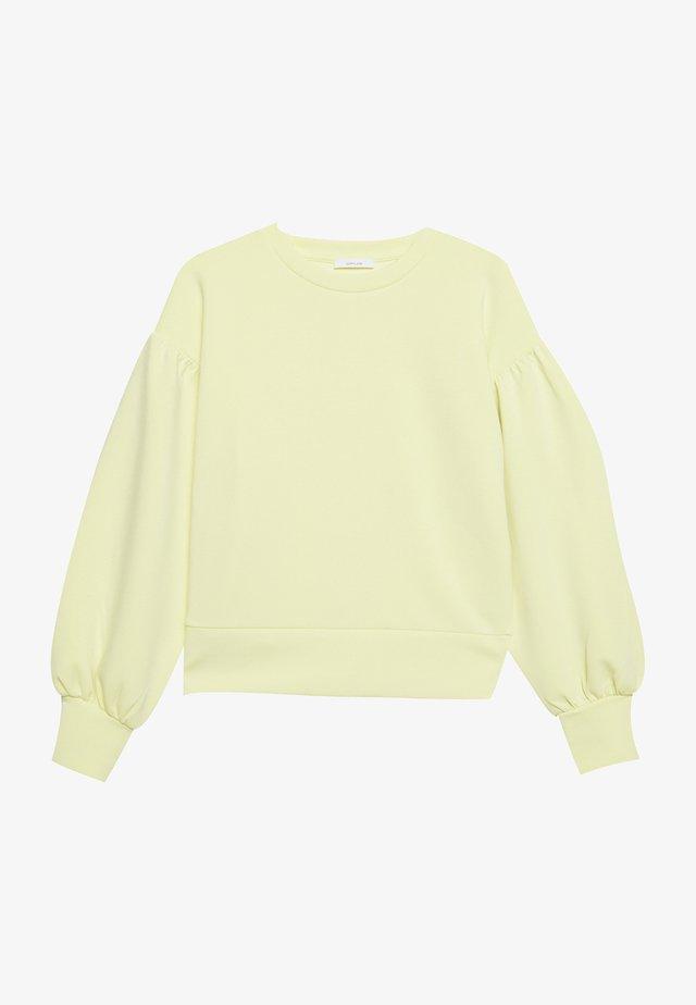 GONNY - Top sdlouhým rukávem - fresh lemon