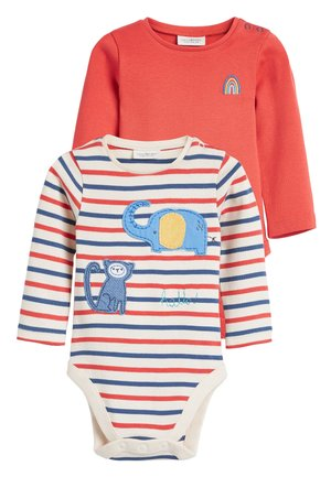 RED TWO PACK CHARACTER APPLIQUé BODYSUITS (0MTHS-3YRS) - Body - red