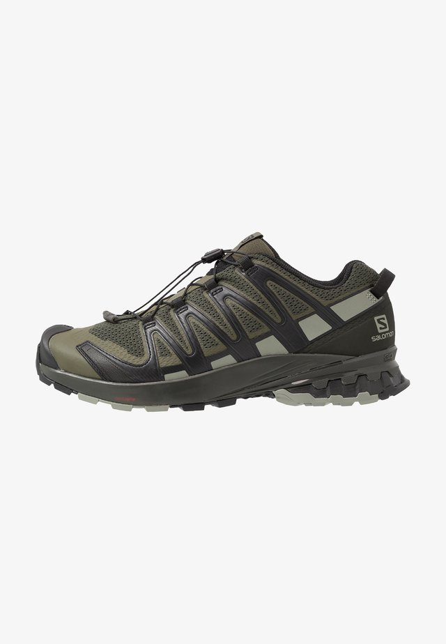 XA PRO 3D V8 - Hiking shoes - grape leaf/peat/shadow