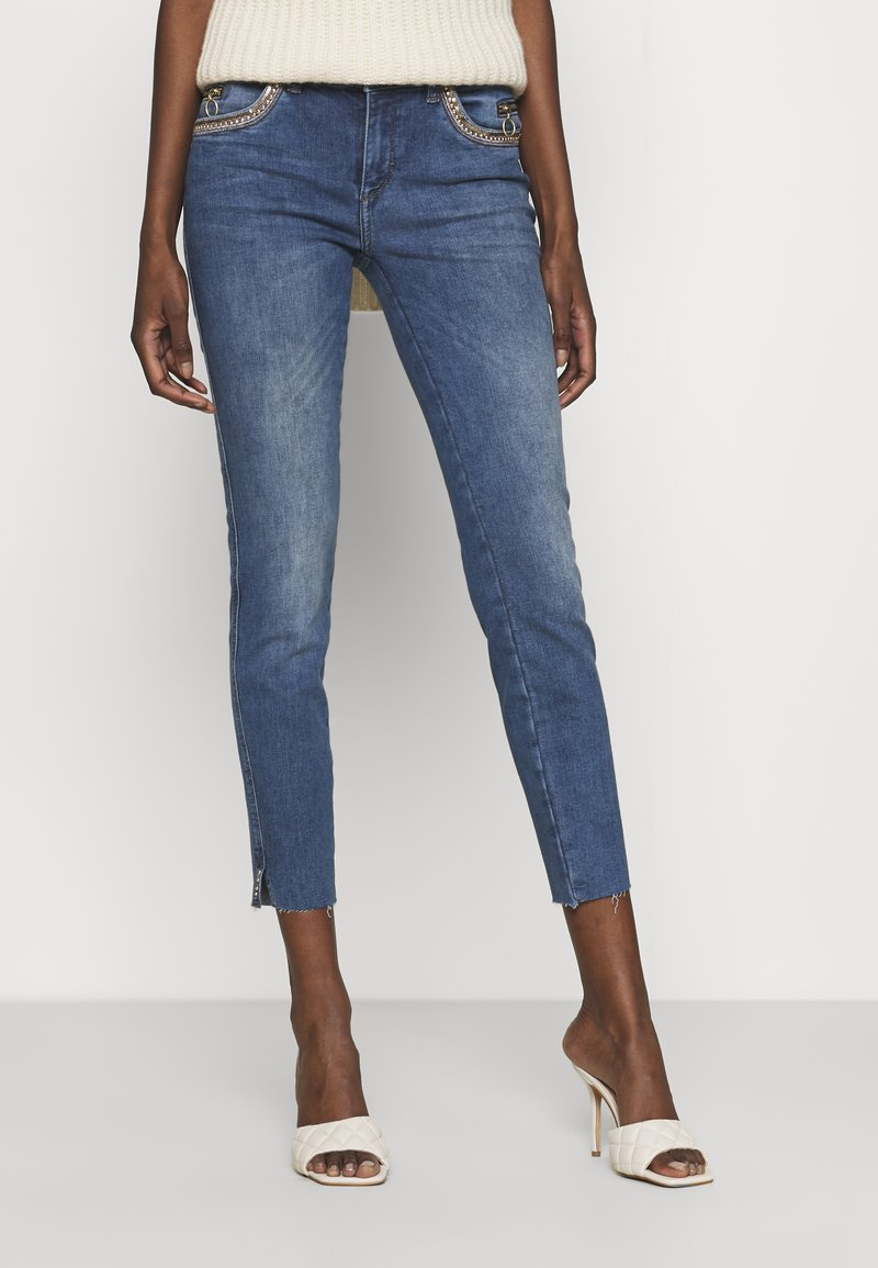 Mos Mosh - SUMNER SHINE - Jeans slim fit - blue