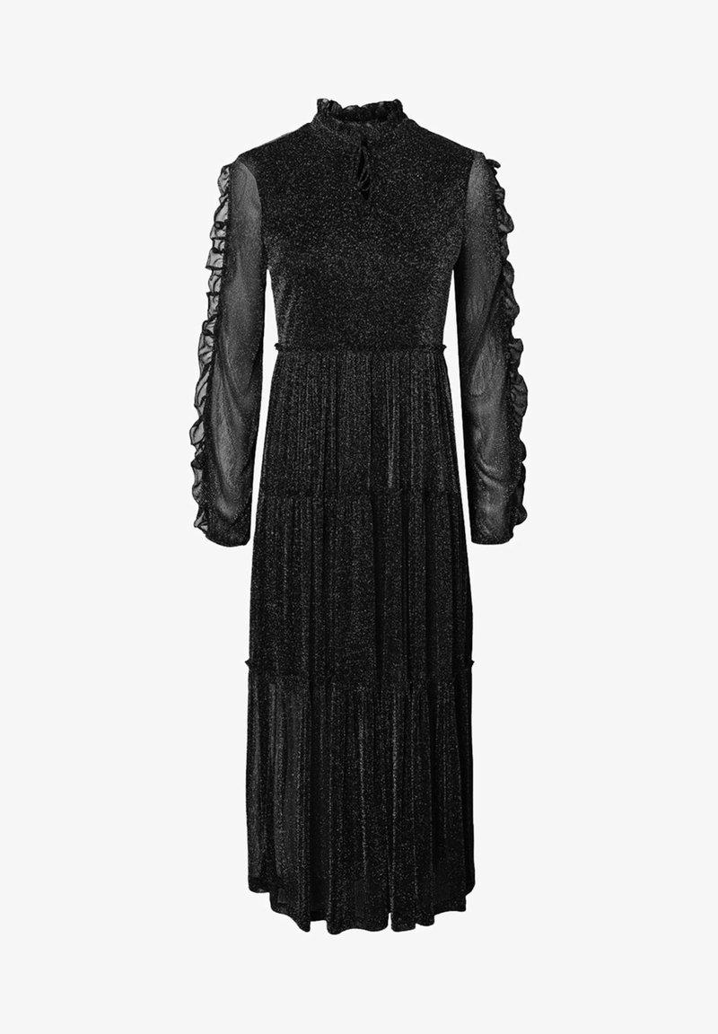 Noisy May - RÜSCHEN - Maxi dress - black