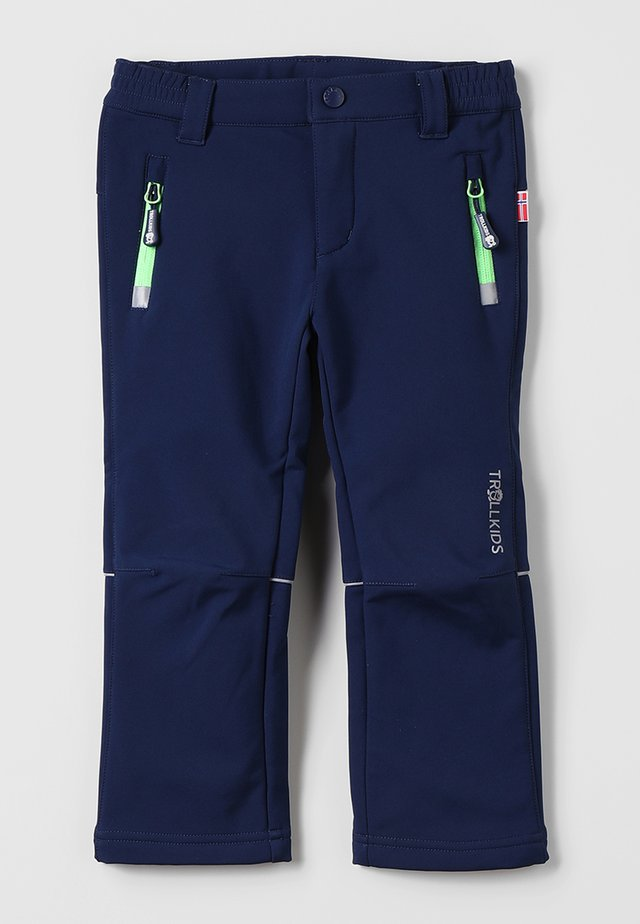 KIDS FJELL PANT - Pantalons outdoor - navy
