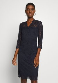 Esprit Collection - DRESS - Cocktail dress / Party dress - navy - 0