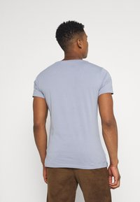 Replay - CREW TEE 3 PACK - T-shirt basic - dark blue/periwinkle/ash grey - 2