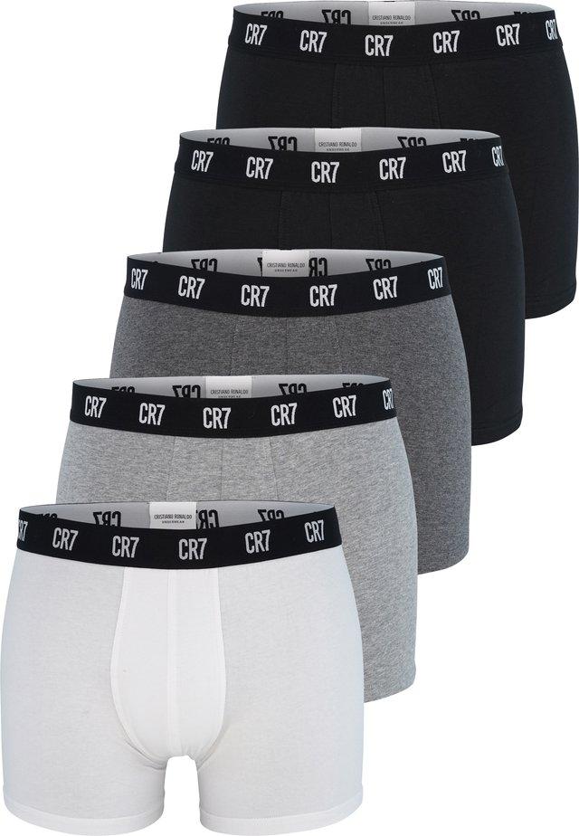 5 PACK - Pants - schwarz/grau/weiss (2400)