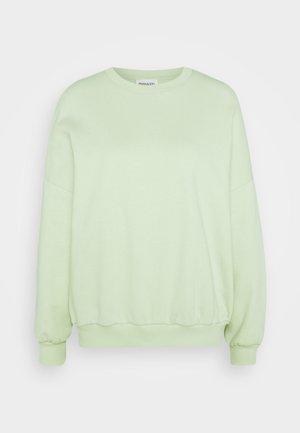 Oversized Sweatshirt - Sweatshirt - green