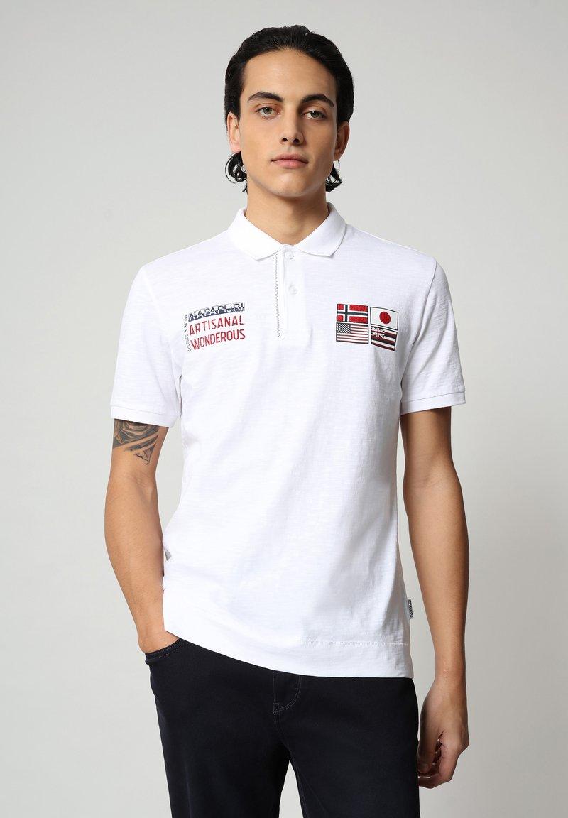 Napapijri - EULA - Polo shirt - bright white