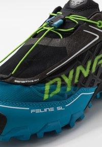Dynafit - FELINE SL - Trail running shoes - asphalt/methyl blue - 5