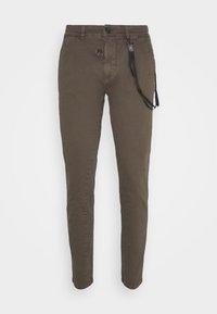 JIM - Trousers - brown