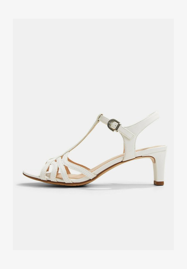 OLEA BASIC - Sandales - white
