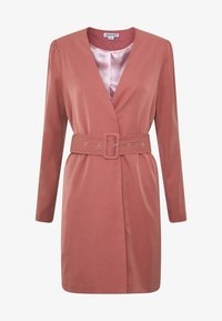 UNIQUE 21 - CREPE BELTED PUFF SLEEVE DRESS - Sukienka letnia - rose - 3