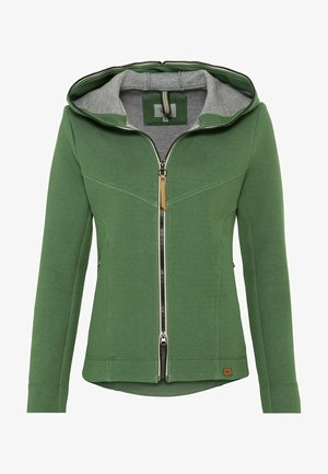 SCUBA - Zip-up hoodie - green