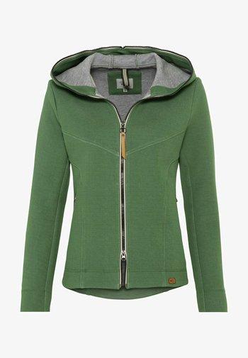 SCUBA - Zip-up hoodie - green