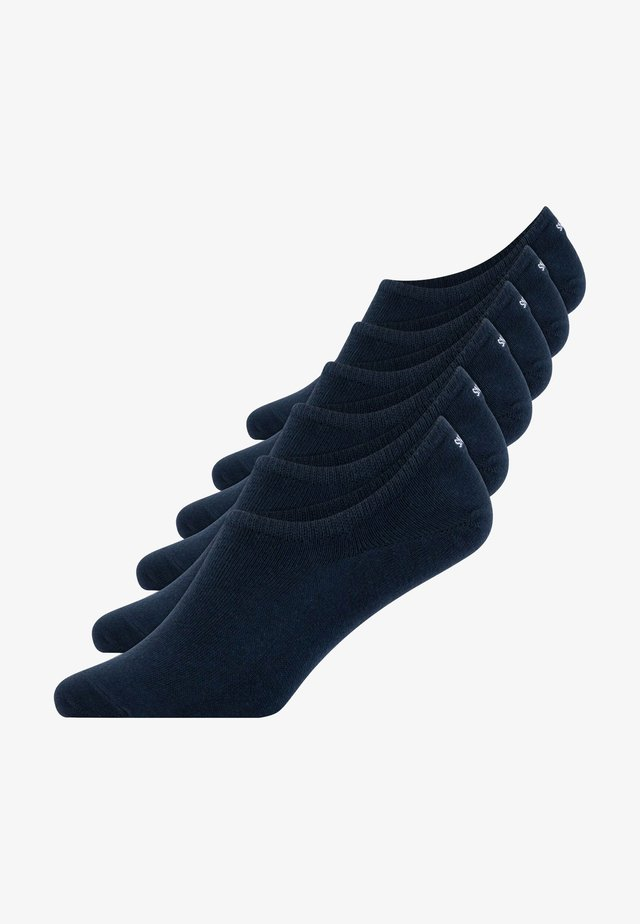 INVISIBLE SNEAKER - Trainer socks - blau