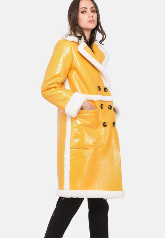 FEELING - Cappotto invernale - yellow