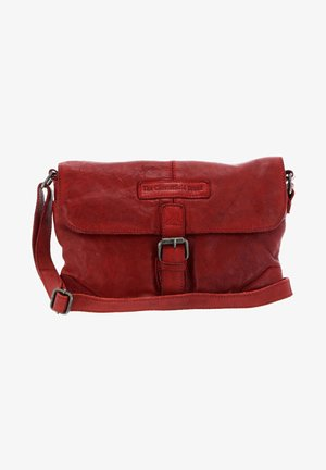 LIV FLAPOVER - Across body bag - red