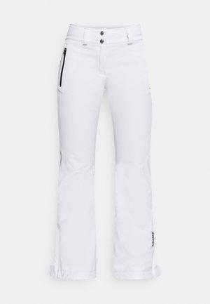 LADIES PANTS - Spodnie narciarskie - white