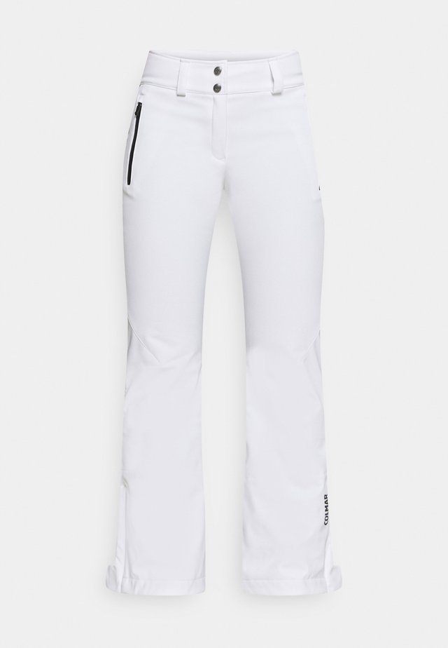 LADIES PANTS - Pantalon de ski - white