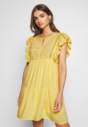 LADIES DRESS - Day dress - yellow