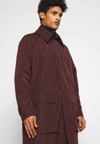 Tiger of Sweden - ACAULE - Classic coat - burgundy - 4