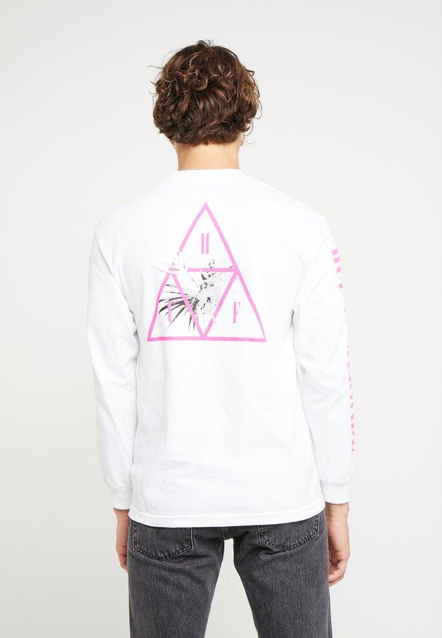 JUNGLE TEE - Bluzka z długim rękawem - white