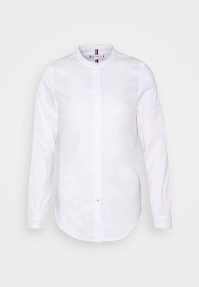 SALLY TRIM - Bluzka - optic white