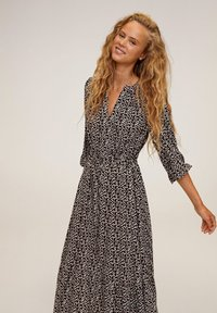 Mango - APPLE - Day dress - noir - 3