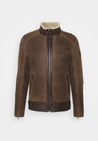 Belstaff - WESTLAKE JACKET - Leather jacket - chocolate brown - 0