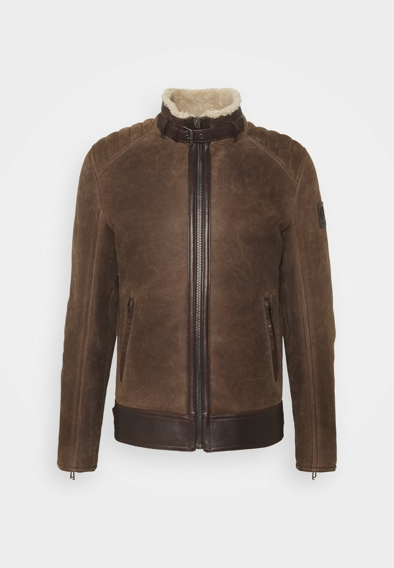 Belstaff - WESTLAKE JACKET - Leather jacket - chocolate brown