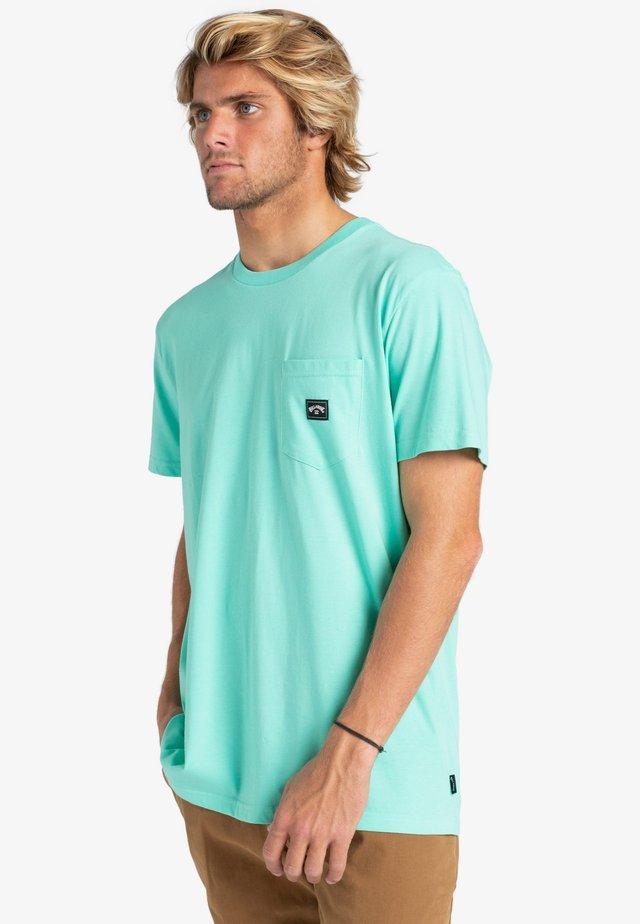 STACKED  - Basic T-shirt - light aqua