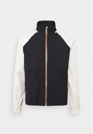 GENTS ZIP CASUAL JACKET - Summer jacket - black/beige