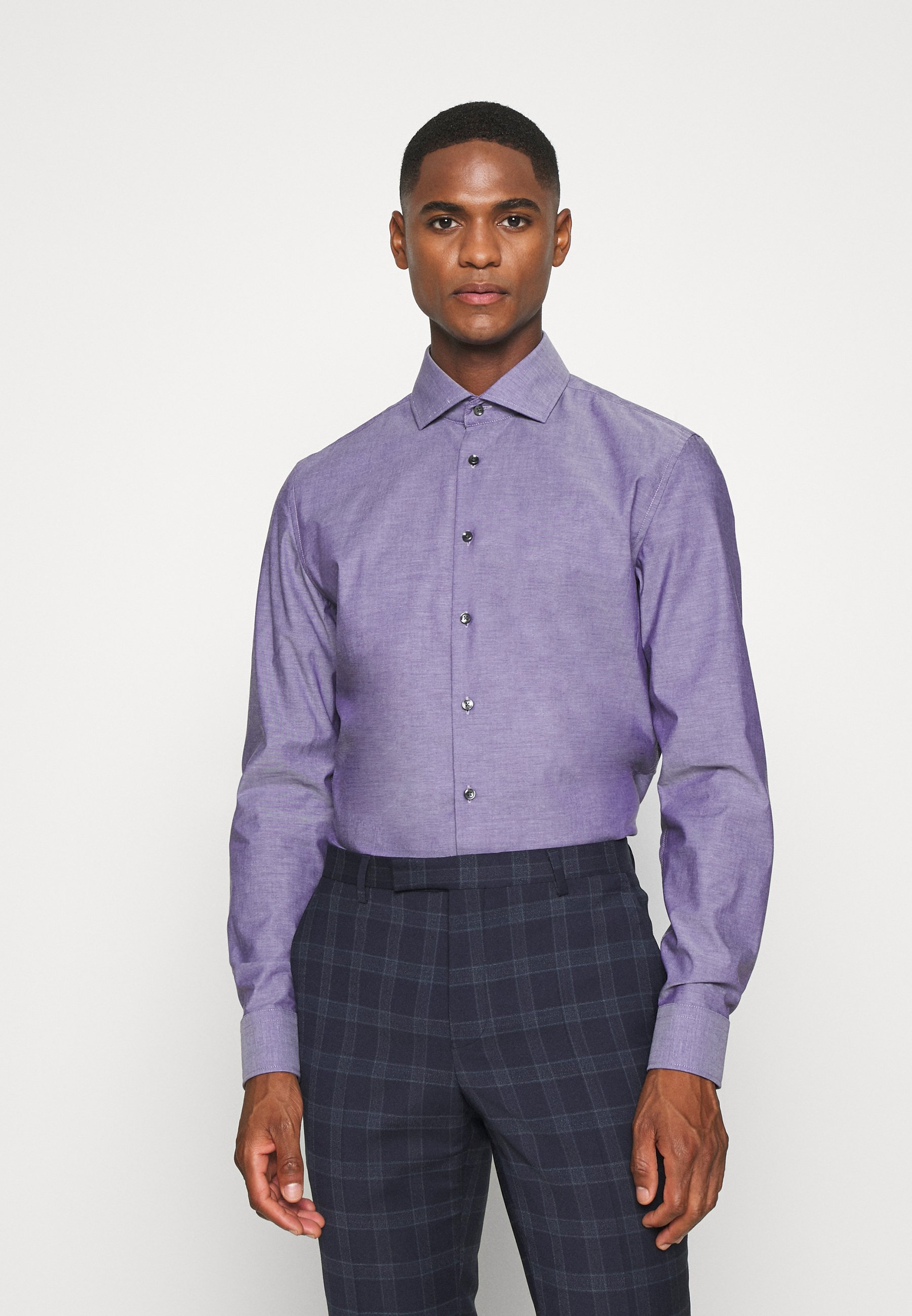 Men SLIM SPREAD KENT PATCH - Formal shirt