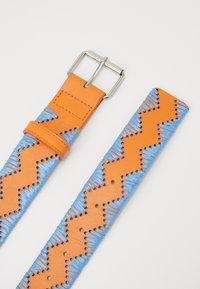 M Missoni - CINTURA - Bælter - light blue/orange - 2