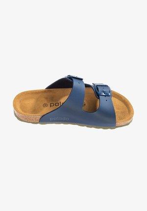 Slippers - basic blau