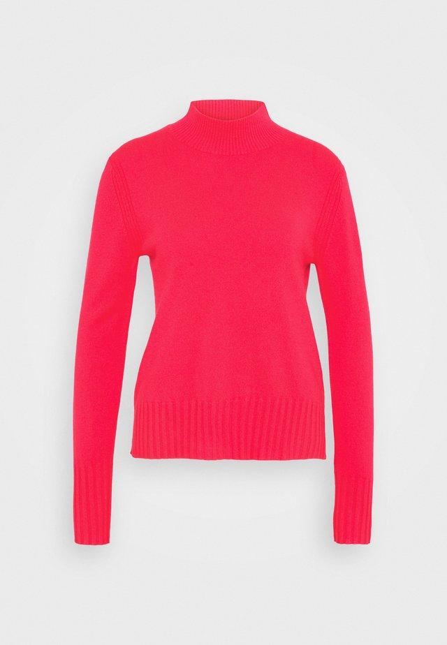 CASH MOCKNECK - Pullover - neon primrose