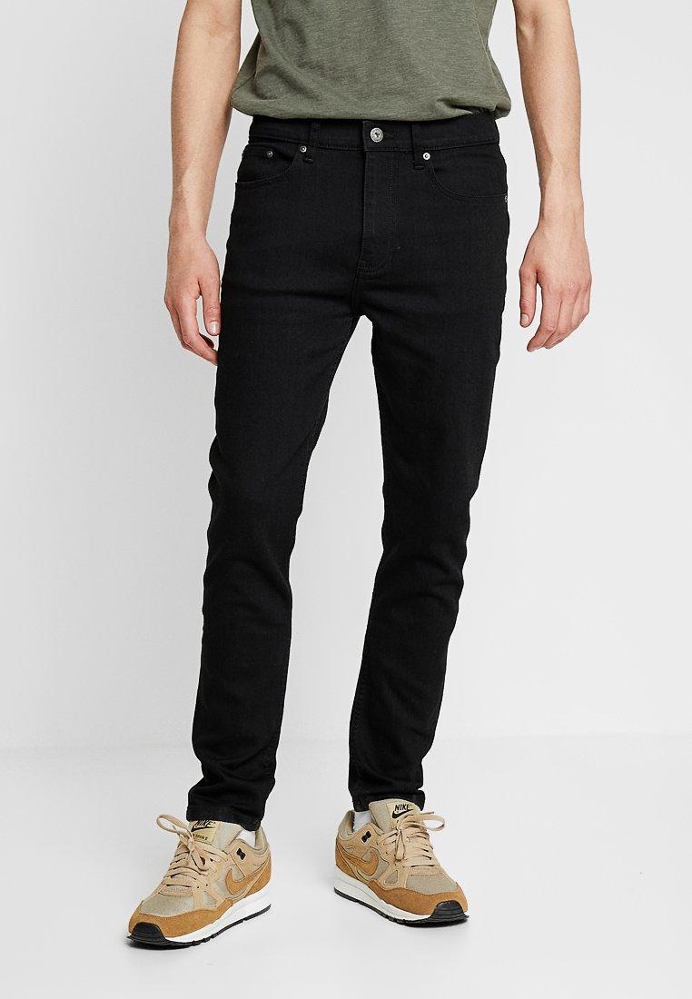 Zalando Essentials - Slim fit jeans - black denim