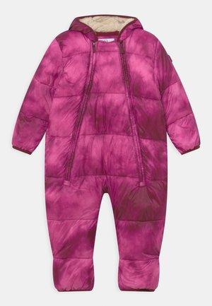 SNOWSUIT - Snowsuit - happy pink