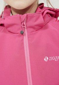 ZIGZAG - Outdoor jacket - 4072 pink peacock - 4