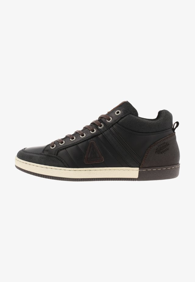 WILLIS - Sneakers laag - black/brown