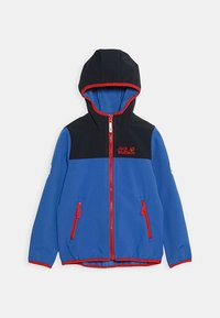 Jack Wolfskin - FOURWINDS JACKET KIDS - Softshelljas - coastal blue - 0