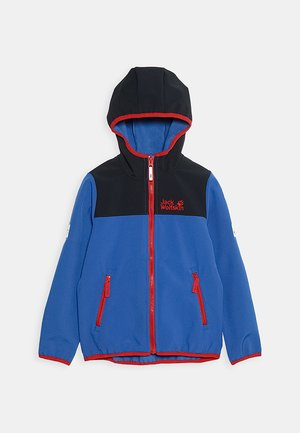 FOURWINDS JACKET KIDS - Soft shell jacket - coastal blue