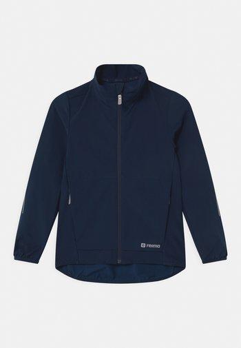 MANTEREET UNISEX - Soft shell jacket - navy