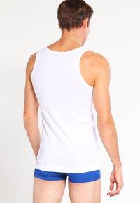 BOSS - SLIM FIT - Undershirt - white - 2